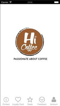 Hi Coffee apk screenshot