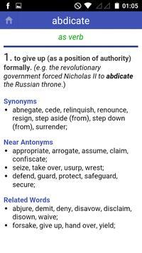 Antonyms Synonyms screenshot 1