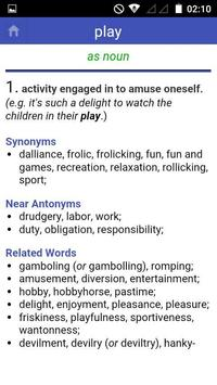 Antonyms Synonyms screenshot 4