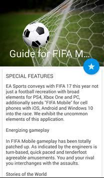 Руководство для FIFA Mobile poster