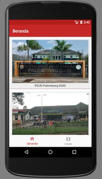 Info Rumah Sakit Palembang poster