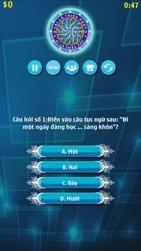 Ai Là Triệu Phú 2017 apk screenshot