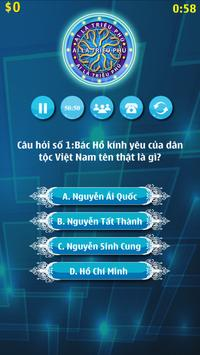 Ai Là Triệu Phú 2017 screenshot 2