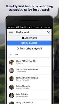 Beer Logger - Personal beer reviews, log and facts apk screenshot