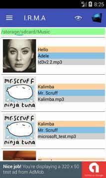 IRMA - ths simple MP3 tag editor screenshot 1