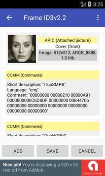 IRMA - ths simple MP3 tag editor screenshot 2
