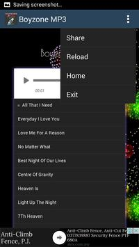 Boyzone Hits - Mp3 apk screenshot