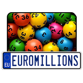 Results for Euromillion lottery icon