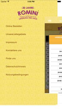 Romini Pizza Lieferservice. apk screenshot