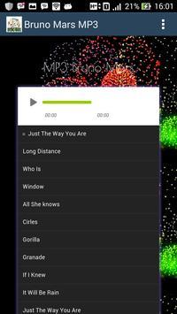 Lagu Barat - Bruno Mars Hits - Mp3 apk screenshot