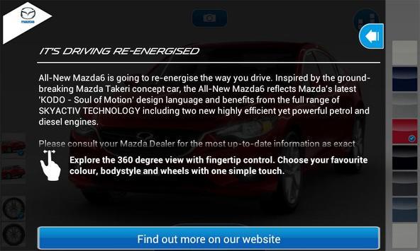 Mazda6 au poster
