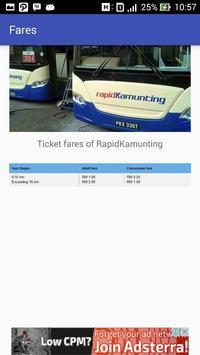 Jadwal - Bus Rapid Kamunting screenshot 4