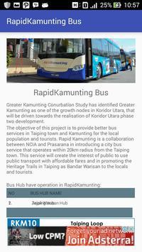 Jadwal - Bus Rapid Kamunting screenshot 2