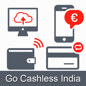 Cashless India/Online Payment icon