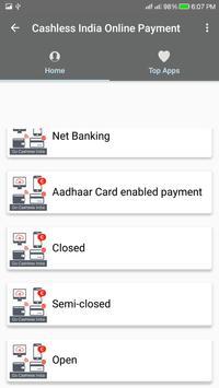 Cashless India/Online Payment screenshot 1