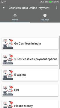 Cashless India/Online Payment screenshot 2