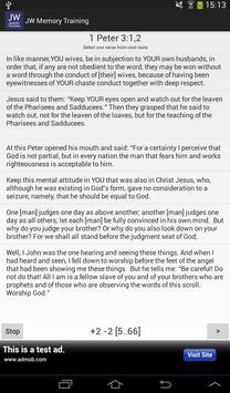 Memory Training. Bible Study screenshot 10