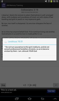 Memory Training. Bible Study screenshot 11