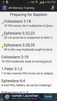 Memory Training. Bible Study screenshot 2