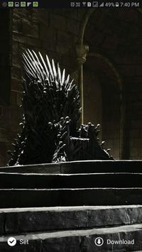 Thrones HD wallpaper apk screenshot