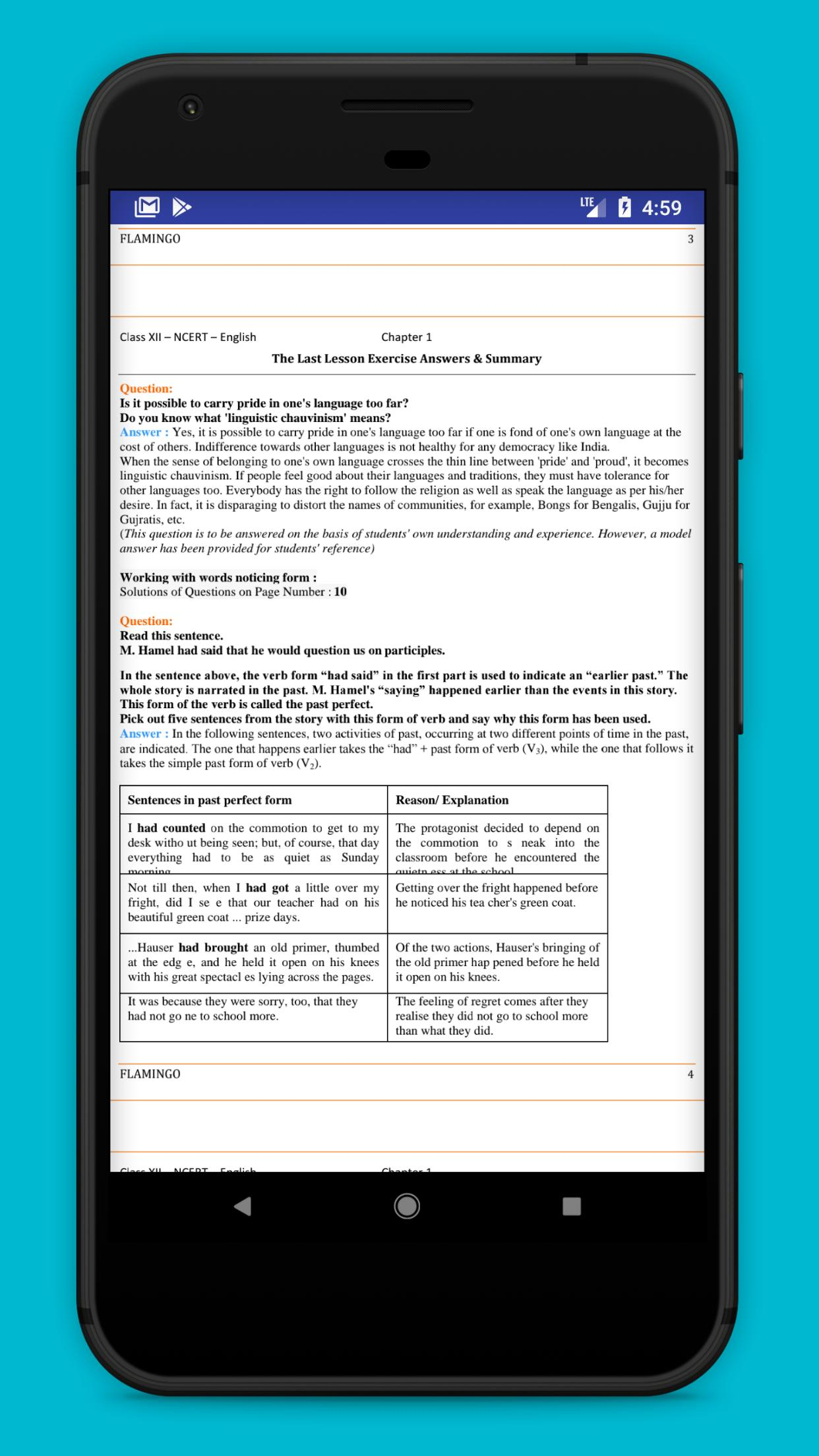 Class 12 English - NCERT Solutions for Android - APK Download