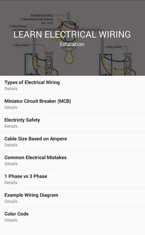 Learn Electrical Wiring for Android - APK Download