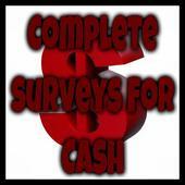 Complete Surveys For Cash icon
