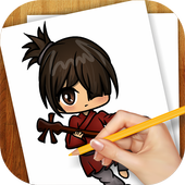 Learn to Draw Kubo Samurai Legends icon