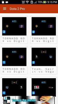 Dota 2 Pro Game poster