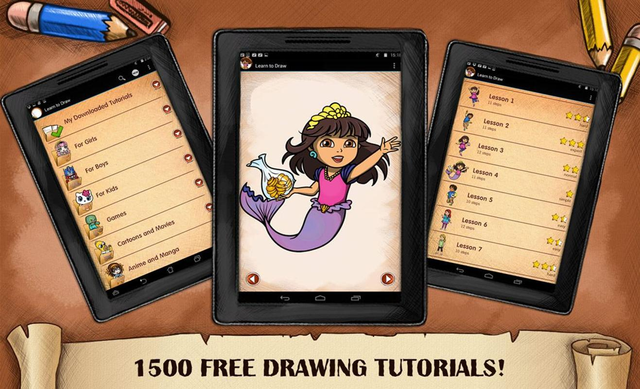 Drawing Dora Explorer And Friends For Android Apk Download