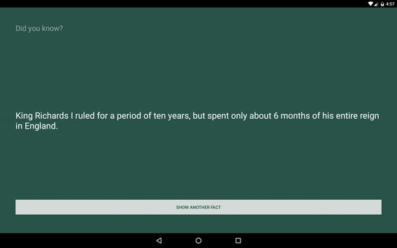 Trivial Facts apk screenshot