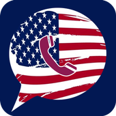 رقم امريكي مجاني icon