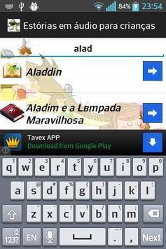 Histórias audio para crianças apk screenshot