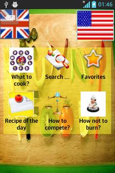 Cooking Recipes Funny Food poster