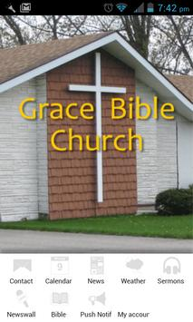 Grace Bible Church of Burton poster