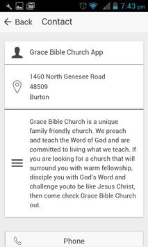 Grace Bible Church of Burton screenshot 1