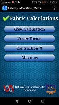 Fabric Calculations screenshot 1