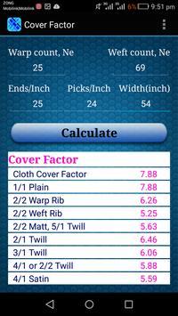 Fabric Calculations screenshot 3