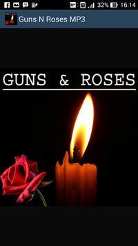 Gun n Roses Hits - Mp3 poster