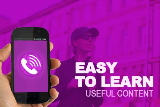 New Viber Calls Message Advice apk screenshot
