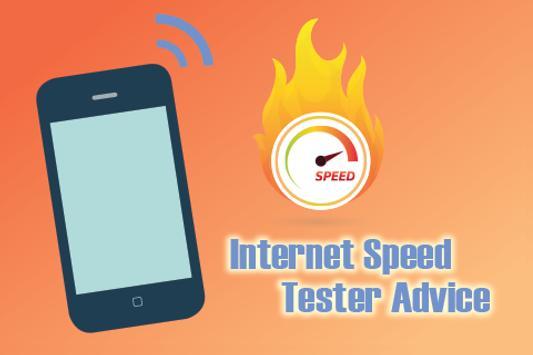Internet Speed Tester Advice screenshot 1