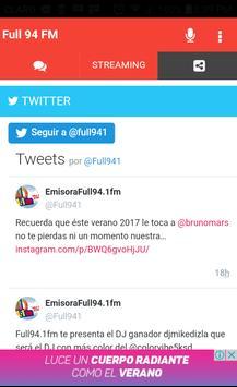 Full 94 FM screenshot 4
