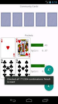 PokerMate Poker Odds apk screenshot
