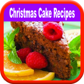 Christmas Cake Recipes Cooking icon