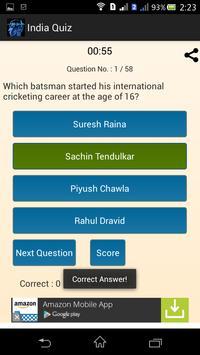 India Quiz تصوير الشاشة 3