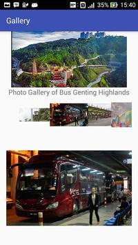 Bus Genting Highlands apk screenshot