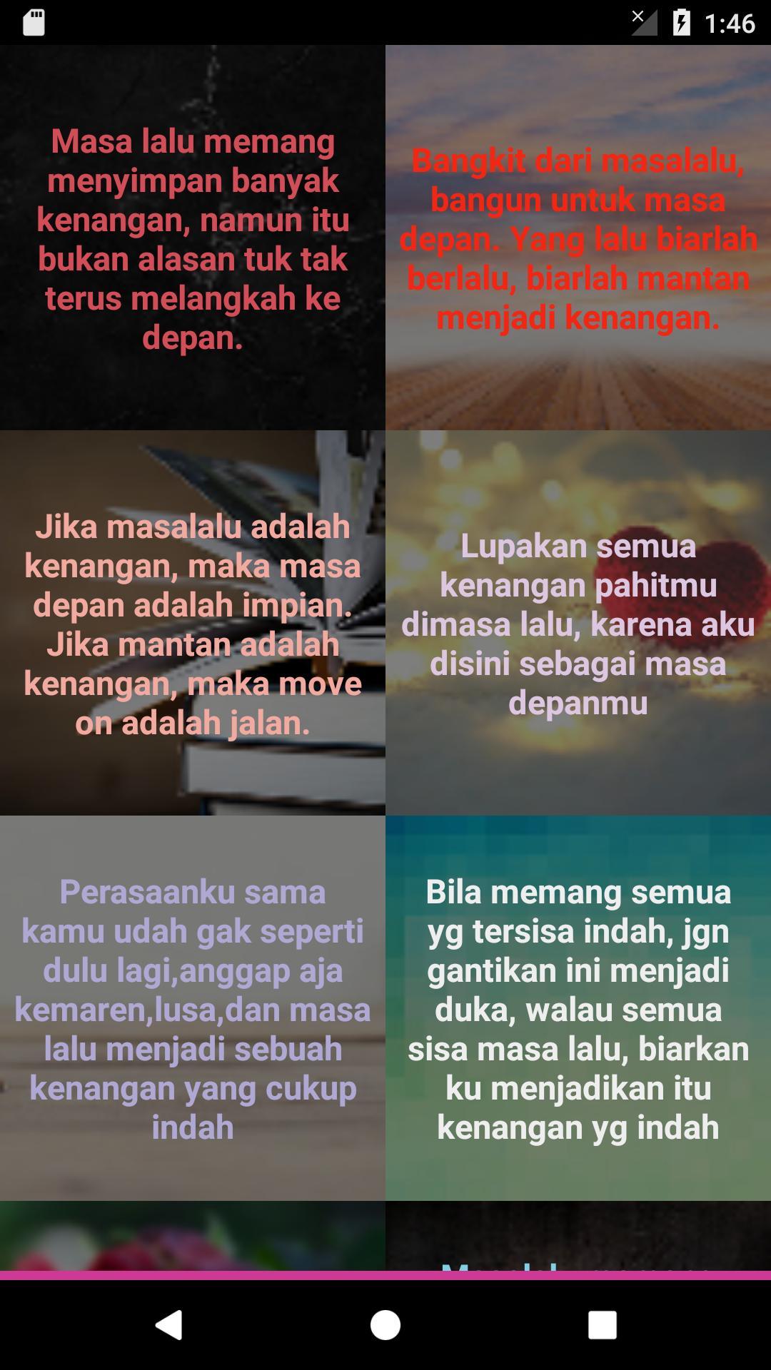Dp Kata Kata Masa Lalu Für Android Apk Herunterladen