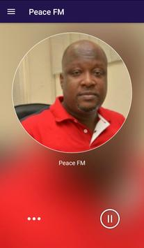 Peace FM News & Radio screenshot 1