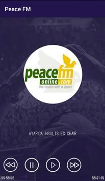 Peace FM News & Radio screenshot 2