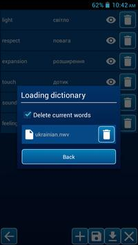 New words apk screenshot